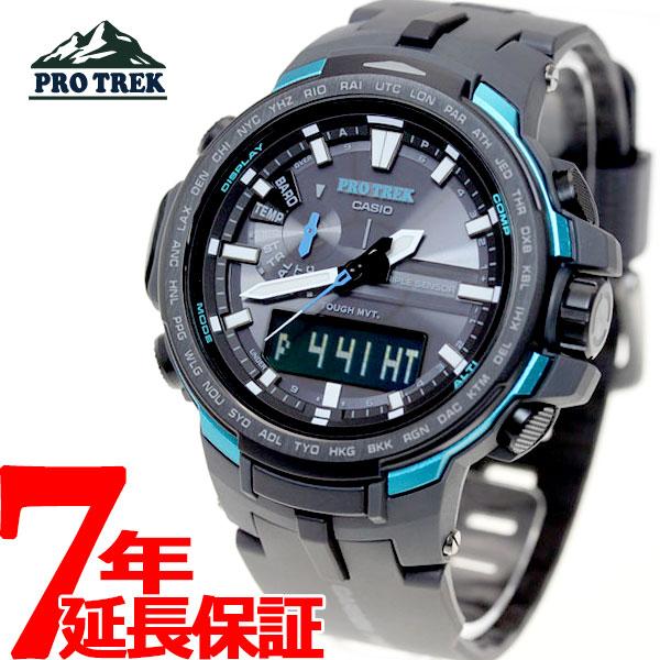 カシオ プロトレック CASIO PRO TREK 電波 ソーラー 電波時計 腕時計 メンズ アナデジ タフソーラー PRW-6100Y-1AJF