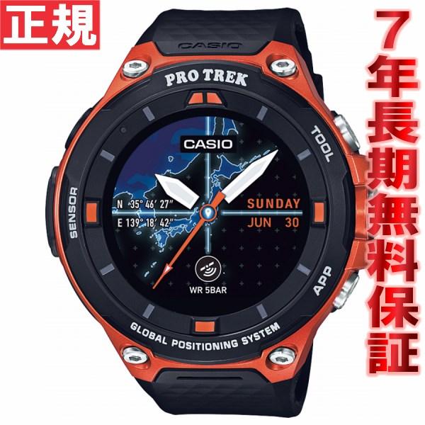 カシオ プロトレック CASIO PRO TREK スマートアウトドアウォッチ Smart Outdoor Watch オレンジ 腕時計 メンズ WSD-F20-RG