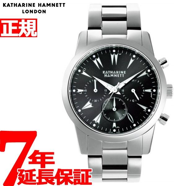 【5日0時~♪10%OFFクーポン&店内ポイント最大51倍!5日23時59分まで】キャサリンハムネット KATHARINE HAMNETT 腕時計 メンズ クロノグラフ5 CHRONOGRAPH V KH20A5-B29