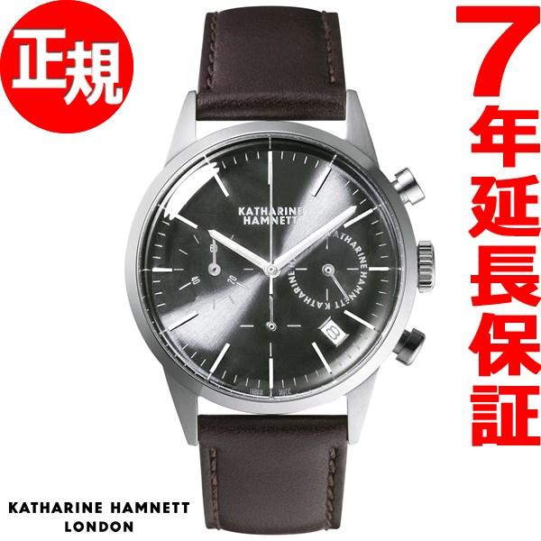 402b320033 キャサリンハムネット KATHARINE HAMNETT 腕時計 メンズ クロノグラフ6 CHRONOGRAPH VI KH20C5-24  素晴らしいアウトレット