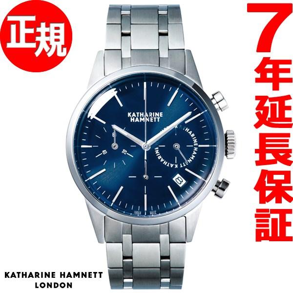 キャサリンハムネット KATHARINE HAMNETT 腕時計 メンズ クロノグラフ6 CHRONOGRAPH VI KH20C5-B64