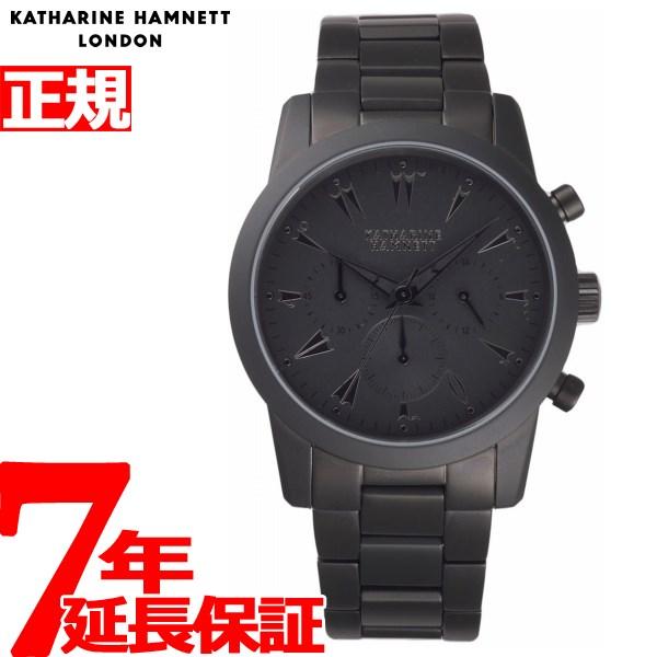 【SHOP OF THE YEAR 2018 受賞】キャサリンハムネット KATHARINE HAMNETT 腕時計 メンズ クロノグラフ5 CHRONOGRAPH V KH23G7-B39