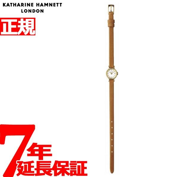 キャサリンハムネット KATHARINE HAMNETT 腕時計 レディース スモールラウンド SMALL ROUND アンティークデザイン KH7811-04