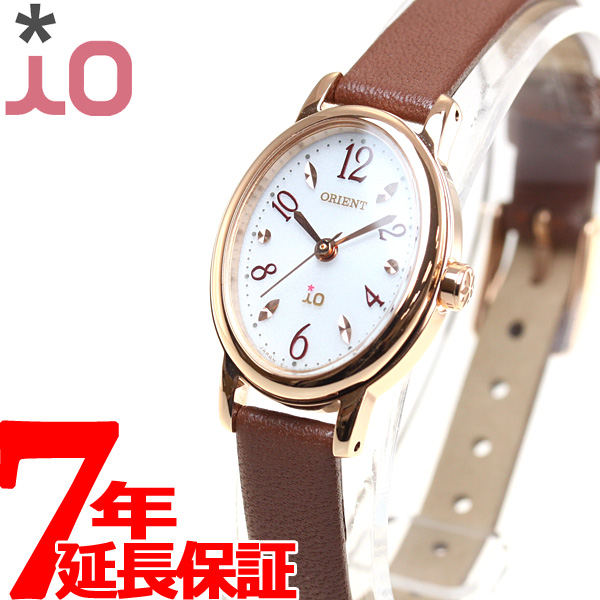 【SHOP OF THE YEAR 2018 受賞】オリエント イオ ナチュラル&プレーン ORIENT iO NATURAL&PLAIN 腕時計 レディース WI0481WD