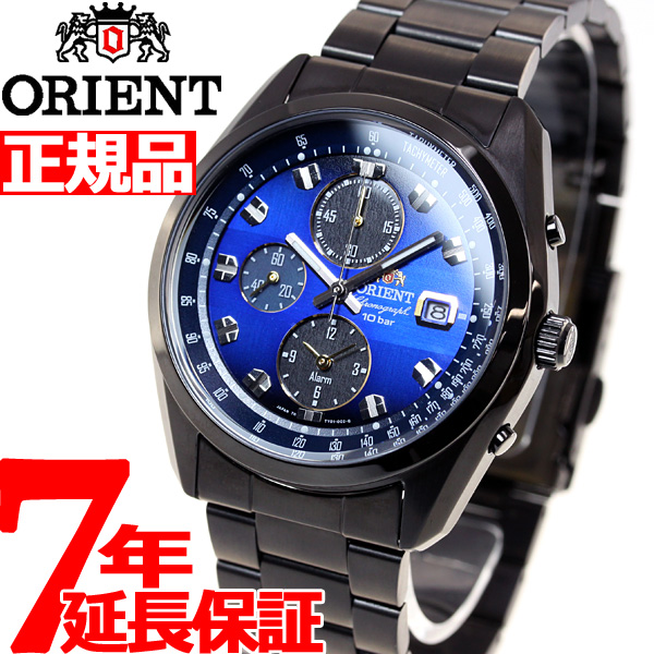 オリエント ネオセブンティーズ ホライズン ORIENT Neo70's ソーラー 腕時計 メンズ クロノグラフ WV0081TY
