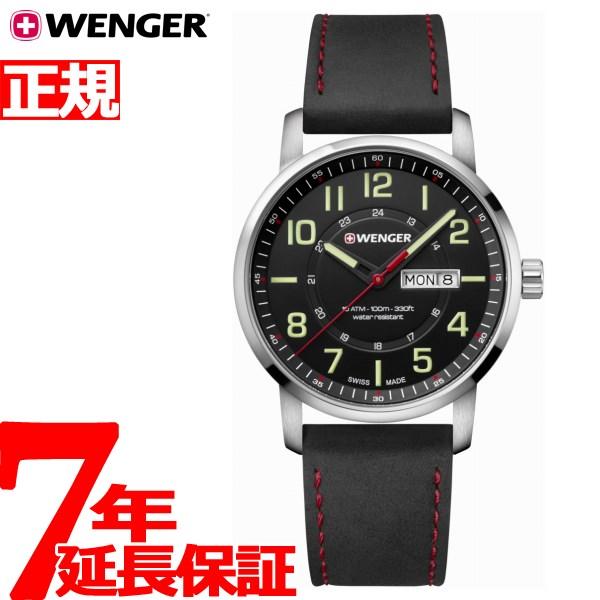 ウェンガー WENGER 腕時計 メンズ アティチュード デイデイト Attitude Day&Date 01.1541.101