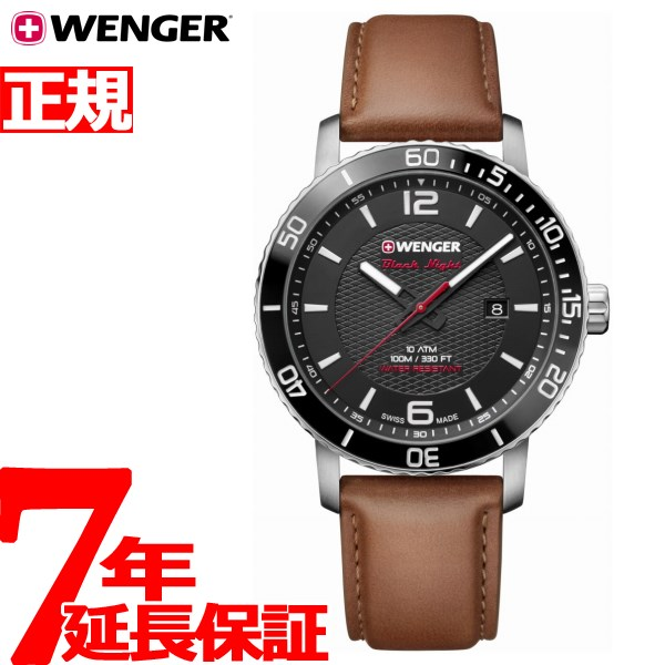 ウェンガー WENGER 腕時計 メンズ ロードスター ブラックナイト Roadster Black Night 01.1841.105