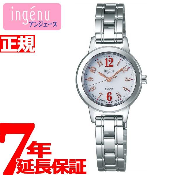 セイコー アルバ アンジェーヌ SEIKO ALBA ingenu ソーラー 腕時計 レディース AHJD097