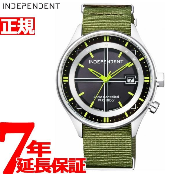 インディペンデント INDEPENDENT ソーラー 電波時計 腕時計 メンズ タイムレスライン TIMELESS line KL8-619-52