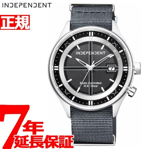 【お買い物マラソンは当店がお得♪本日20より!】インディペンデント INDEPENDENT ソーラー 電波時計 腕時計 メンズ タイムレスライン TIMELESS line KL8-643-50