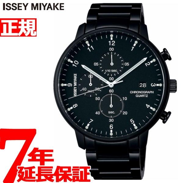 イッセイミヤケ ISSEY MIYAKE 腕時計 メンズ C シー ICHIRO IWASAKI 岩崎一郎デザイン クロノグラフ NYAD008