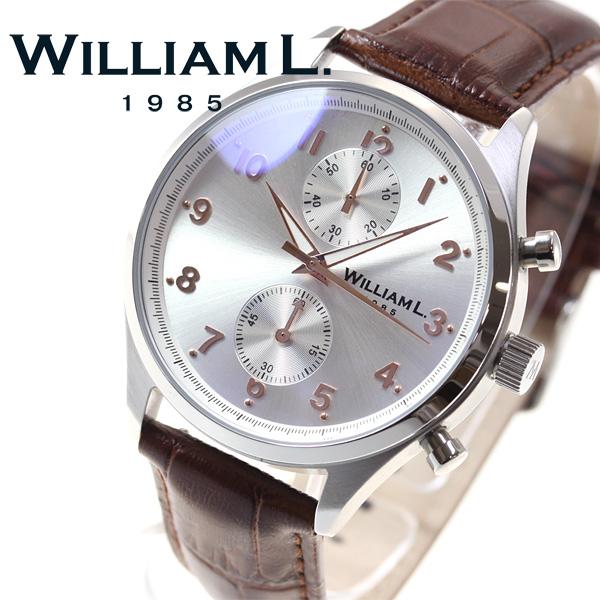 ウィリアムエル1985 WILLIAM L.1985 腕時計 メンズ WLAC02GOCM