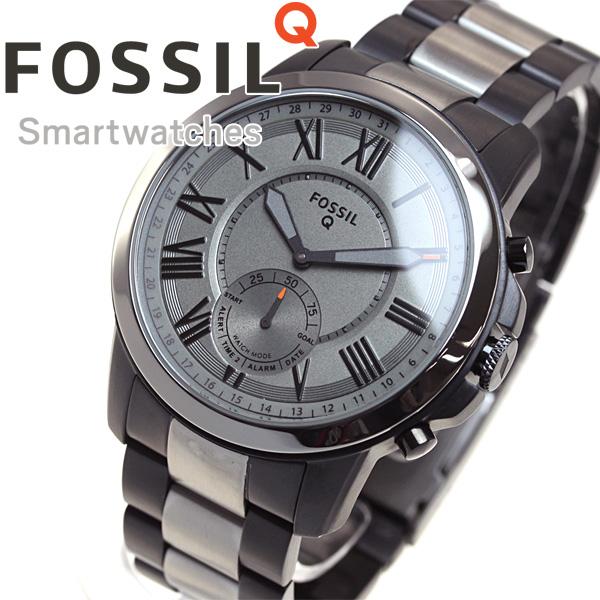 フォッシル FOSSIL ハイブリッド スマートウォッチ ウェアラブル Q GRANT 腕時計 メンズ FTW1139