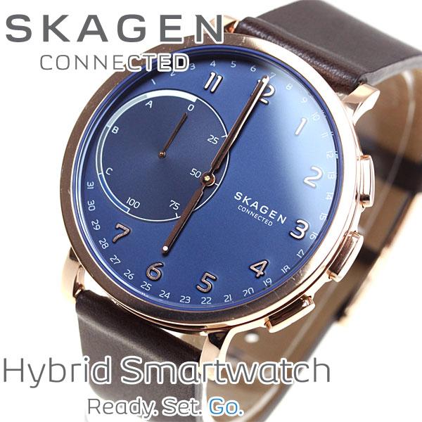 スカーゲン SKAGEN ハイブリッド スマートウォッチ ウェアラブル 腕時計 メンズ/レディース ハーゲン HAGEN CONNECTED SKT1103