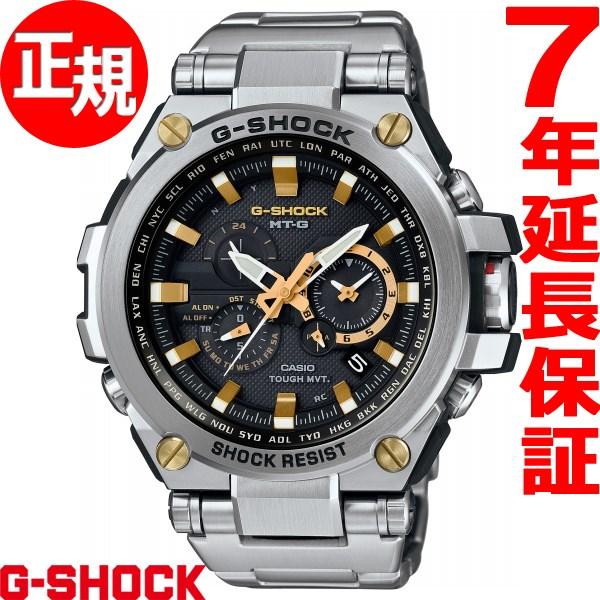 腕時計 カシオ ソーラー電波 [正規品] メンズ (予約受付中) 時計 Gスチール Gショック G-SHOCK GST-W110D-1A9JF 【24回金利0%】