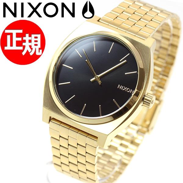 ニクソン NIXON タイムテラー TIME TELLER 腕時計 メンズ オールゴールド/ブラックサンレイ NA0452042-00