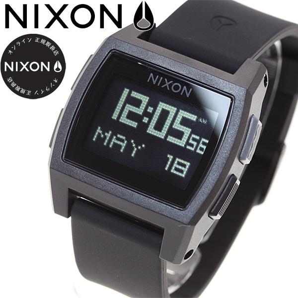 ニクソン NIXON ベース タイド BASE TIDE 腕時計 レディース オールブラック NA1104001-00