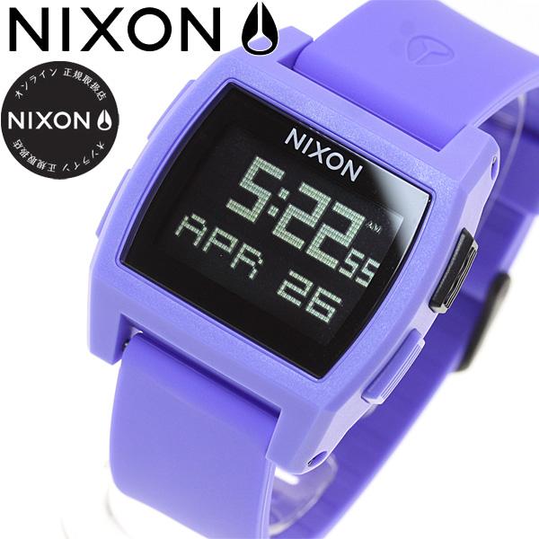 【SHOP OF THE YEAR 2018 受賞】ニクソン NIXON ベース タイド BASE TIDE 腕時計 レディース パープル NA11042553-00