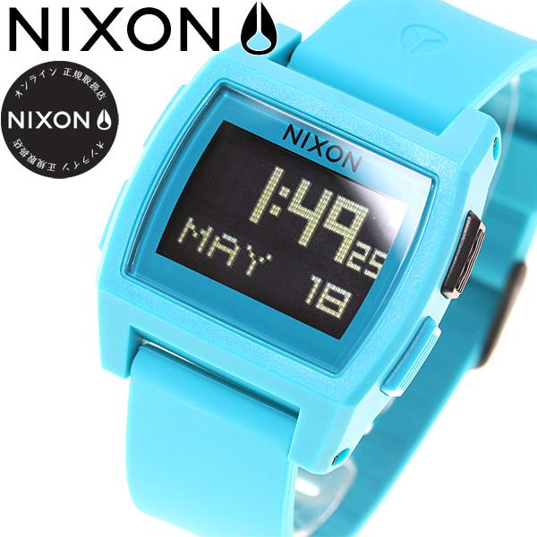 ニクソン NIXON ベース タイド BASE TIDE 腕時計 レディース ブルー NA11042556-00