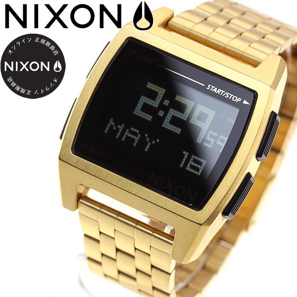 ニクソン NIXON ベース BASE 腕時計 レディース オールゴールド NA1107502-00