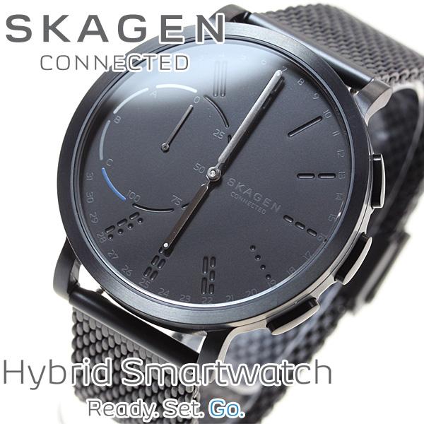 スカーゲン SKAGEN ハイブリッド スマートウォッチ ウェアラブル 腕時計 メンズ ハーゲン HAGEN CONNECTED SKT1109