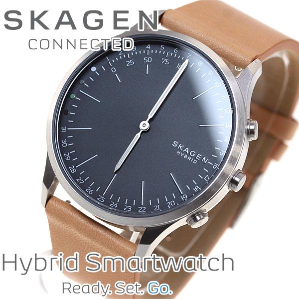 スカーゲン SKAGEN ハイブリッド スマートウォッチ ウェアラブル 腕時計 メンズ JORN CONNECTED SKT1200