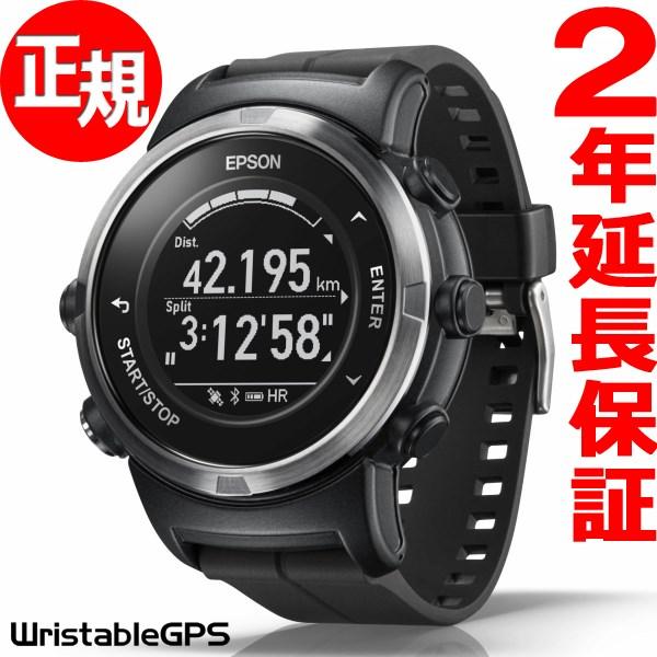 1000円OFFクーポンは31日23:59まで! エプソン リスタブルGPS ランニングギア EPSON WristableGPS スマートウォッチ 腕時計 メンズ J-350B