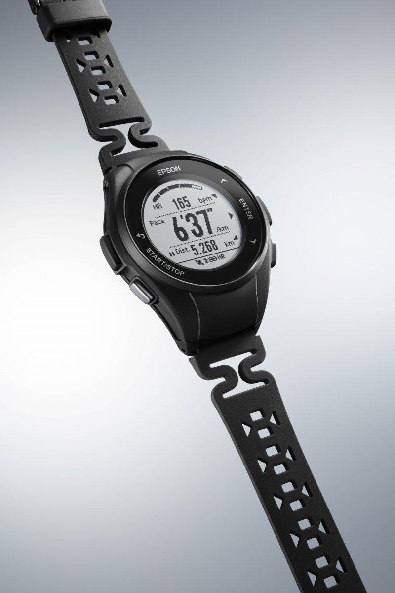 1000円OFFクーポンは31日23:59まで! エプソン リスタブルGPS ランニングギア EPSON WristableGPS スマートウォッチ 腕時計 メンズ J-50B