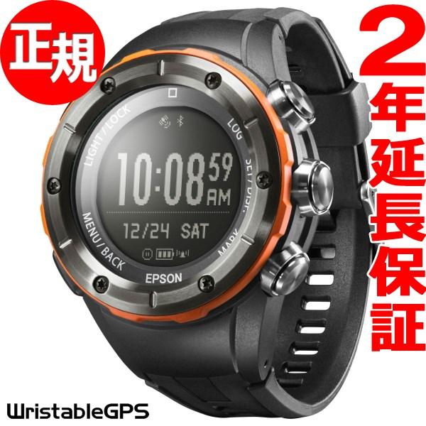 ニールだけの3%OFFクーポン!13日9時59分まで! エプソン リスタブルGPS トレッキングギア EPSON WristableGPS for Trek スマートウォッチ 腕時計 メンズ MZ-500L