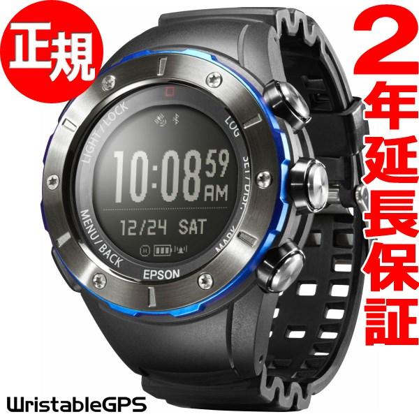 1000円OFFクーポンは31日23:59まで! エプソン リスタブルGPS トレッキングギア EPSON WristableGPS for Trek スマートウォッチ 腕時計 メンズ MZ-500MS