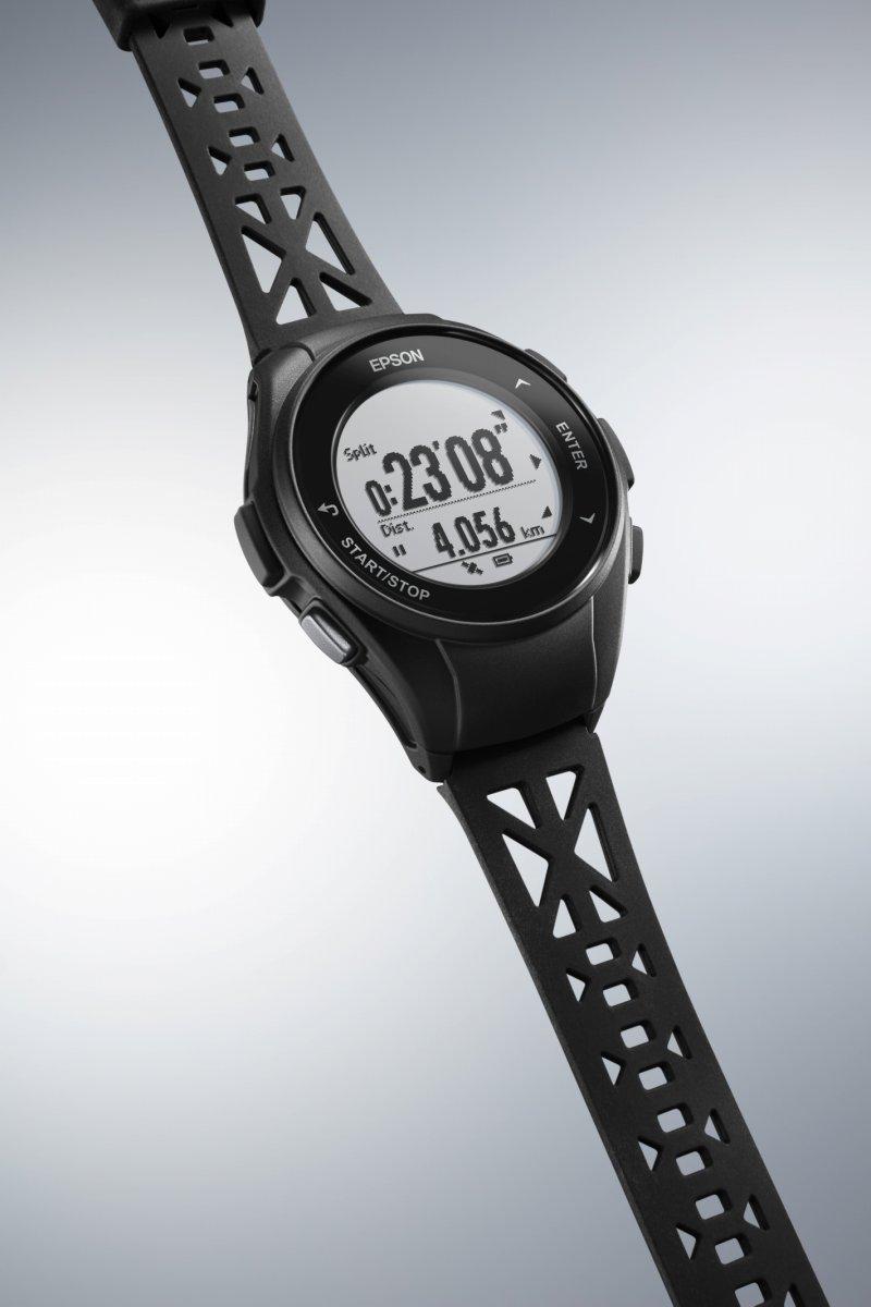 1000円OFFクーポンは31日23:59まで! エプソン リスタブルGPS ランニングギア EPSON WristableGPS スマートウォッチ 腕時計 メンズ Q-10B