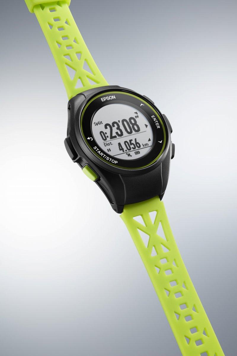 1000円OFFクーポンは31日23:59まで! エプソン リスタブルGPS ランニングギア EPSON WristableGPS スマートウォッチ 腕時計 メンズ Q-10G
