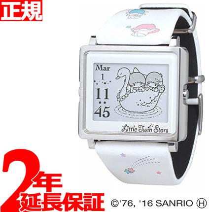 【SHOP OF THE YEAR 2018 受賞】エプソン スマートキャンバス EPSON smart canvas キキ&ララ・キキ&ララ ホワイト 腕時計 メンズ レディース W1-LT10120