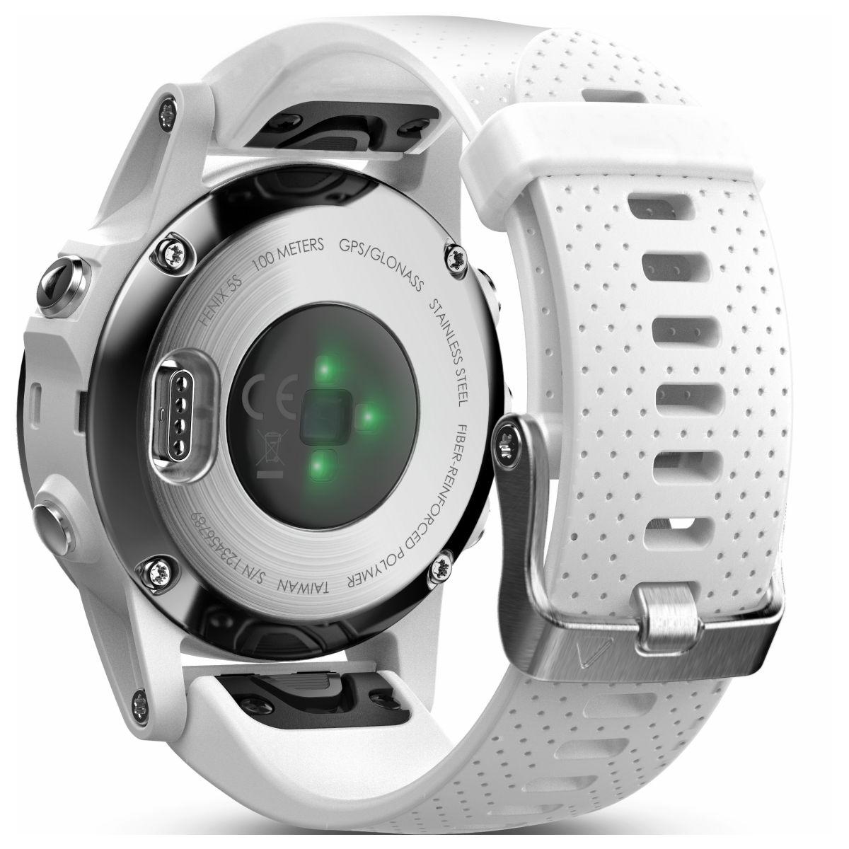 ガーミン GARMIN フェニックス 5S fenix 5S White スマートウォッチ ウェアラブル端末 腕時計 メンズ レディース 010-01685-36