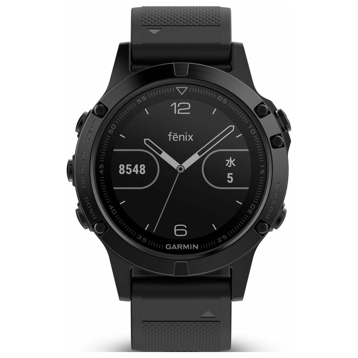 ガーミン GARMIN フェニックス 5 fenix 5 Sapphire スマートウォッチ ウェアラブル端末 腕時計 メンズ レディース 010-01688-66