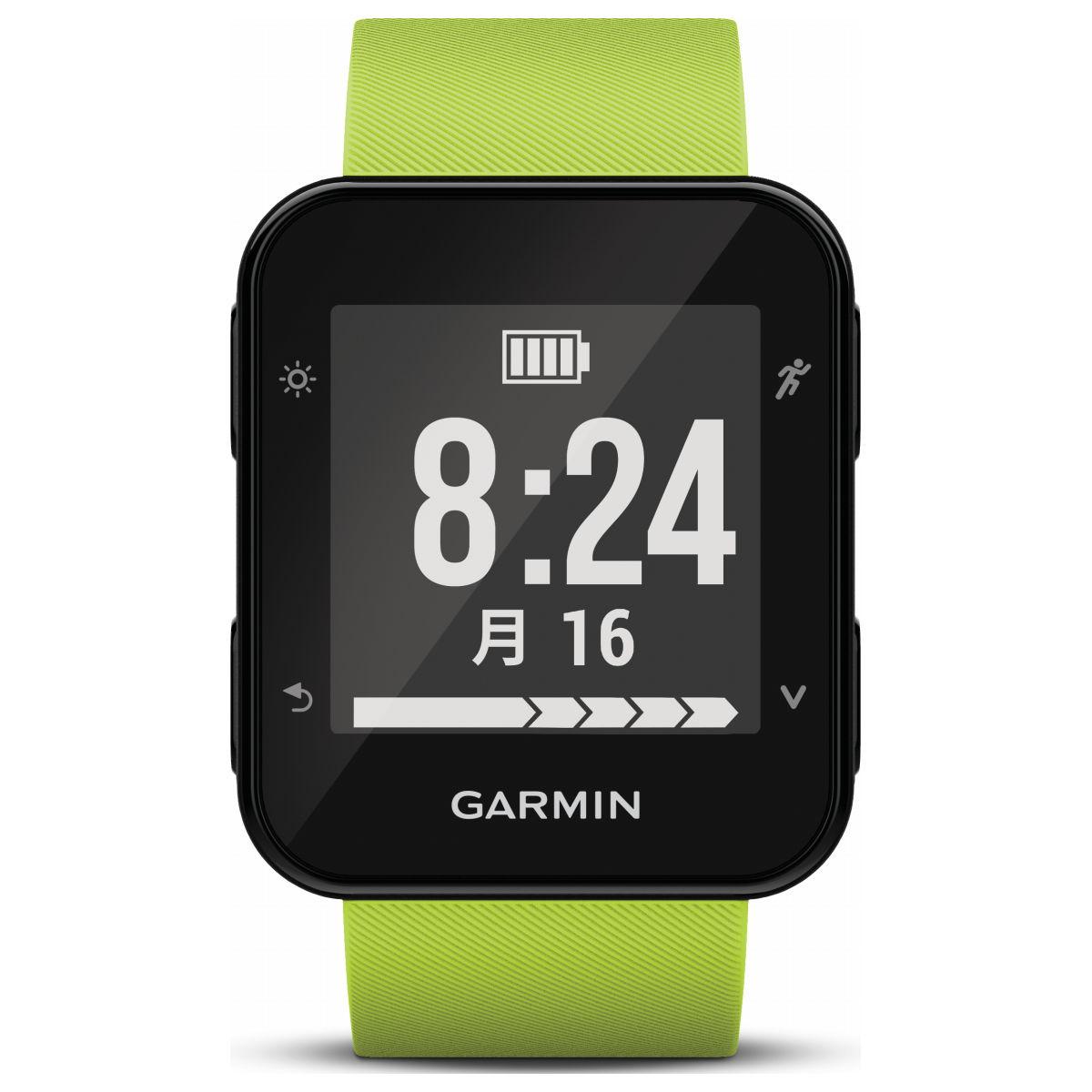 ガーミン GARMIN フォーアスリート35J ForeAthlete35J Lime Green スマートウォッチ ウェアラブル端末 腕時計 メンズ レディース 010-01689-39