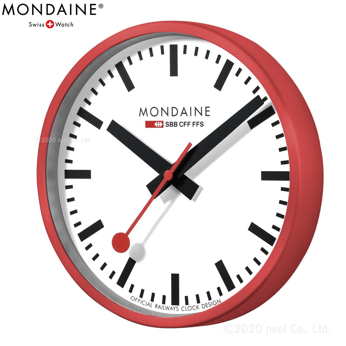 MONDAINE モンディーン ウォールクロック Wall Clock A990.CLOCK.11SBC