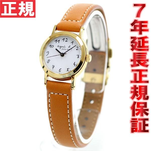 【お買い物マラソンは当店がお得♪本日20より!】アニエスベー agnes b. ソーラー 時計 レディース 腕時計 FBSD980