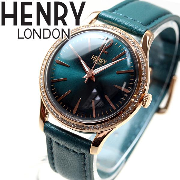 ヘンリーロンドン HENRY LONDON 腕時計 レディース STRATFORD HL34-SS-0206