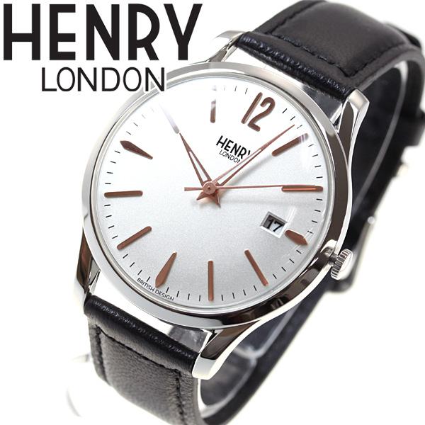 【5日0時~♪最大2000円OFFクーポン&店内ポイント最大51倍!5日23時59分まで】ヘンリーロンドン HENRY LONDON 腕時計 メンズ レディース HIGHGATE HL39-S-0005