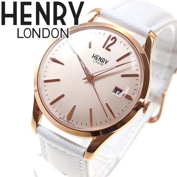 【5日0時~♪最大2000円OFFクーポン&店内ポイント最大51倍!5日23時59分まで】ヘンリーロンドン HENRY LONDON 腕時計 メンズ レディース PIMLICO HL39-S-0112