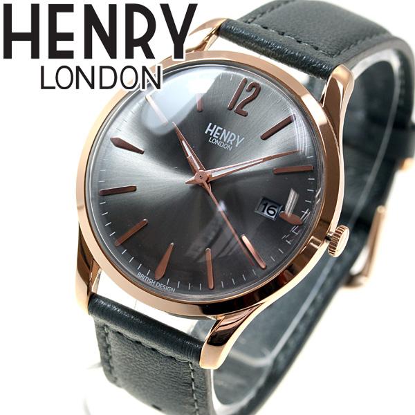 ヘンリーロンドン HENRY LONDON 腕時計 メンズ レディース FINCHLEY HL39-S-0120