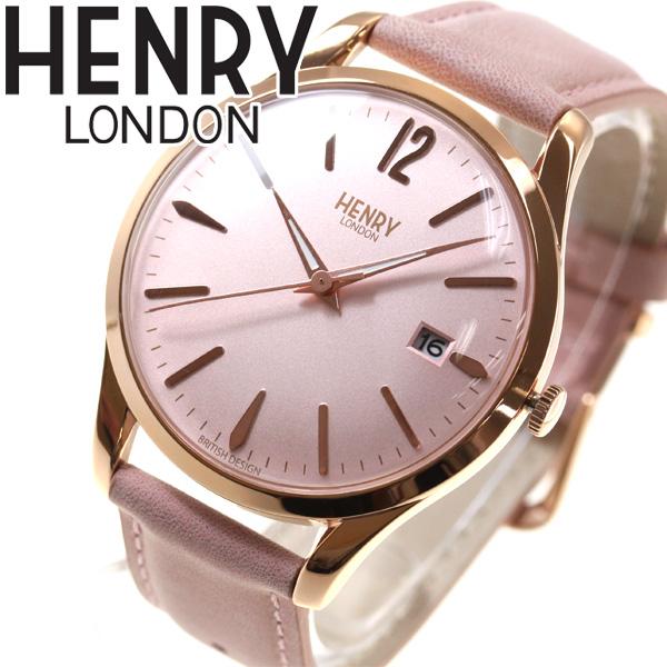 【5日0時~♪最大2000円OFFクーポン&店内ポイント最大51倍!5日23時59分まで】ヘンリーロンドン HENRY LONDON 腕時計 メンズ レディース SHOREDITCH HL39-S-0156