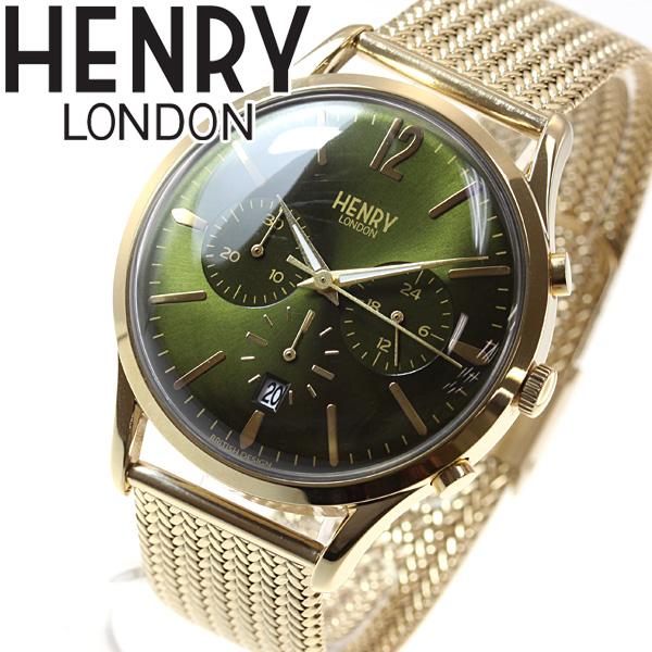 ヘンリーロンドン HENRY LONDON 腕時計 メンズ レディース CHISWICK HL41-CM-0108