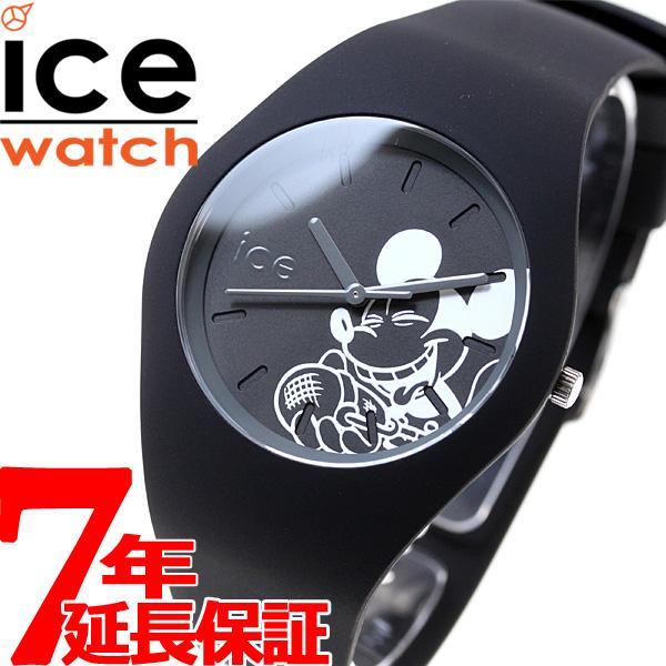 【お買い物マラソンは当店がお得♪本日20より!】アイスウォッチ ICE-Watch 10周年企画 ディズニー コレクション シンギング 日本限定モデル 腕時計 メンズ レディース ミッキー ブラック 014768