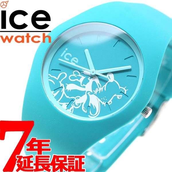 アイスウォッチ ICE-Watch 10周年企画 ディズニー コレクション シンギング 日本限定モデル 腕時計 メンズ レディース グーフィー ターコイズ 014771