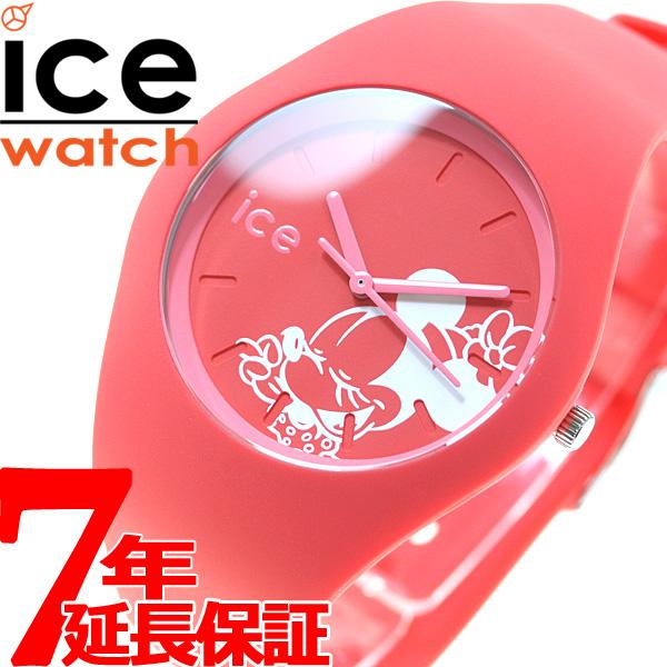 【SHOP OF THE YEAR 2018 受賞】アイスウォッチ ICE-Watch 10周年企画 ディズニー コレクション シンギング 日本限定モデル 腕時計 メンズ レディース ミニー レッド 014773