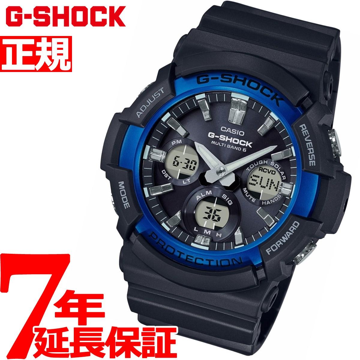 G-SHOCK 電波 ソーラー 腕時計 メンズ タフソーラー GAW-100B-1A2JF