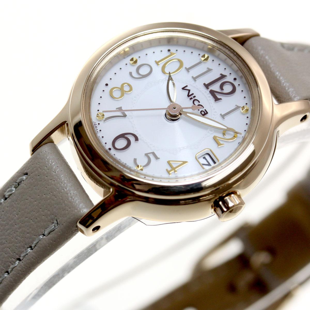 シチズン ウィッカ CITIZEN wicca ソーラー 有村架純 腕時計 レディース KH4-921-10