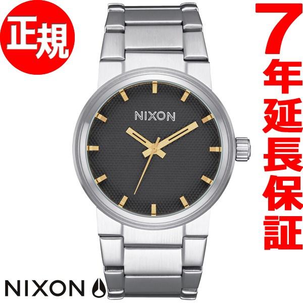 ニクソン NIXON キャノン CANNON 腕時計 メンズ ブラックスタンプ/ゴールド NA1602730-00